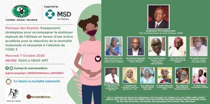 Webinaire Femme-Solidarité-Afrique octobre 2020